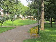 Beauty&Nice Park, flowers&town.  Like.