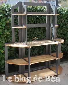 74704479 600x745 DIY: Shelf made of pallets wood in pallet furniture  with Shelves Pallets Furniture DIY Pallet Ideas Corner