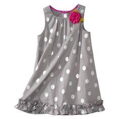 Genuine Kids from OshKosh Infant Toddler Girls' Dress. Like the ruffle on the bottom and the braided neckline Toddler Girl Style, Toddler Girl Dresses, Toddler Fashion, Toddler Outfits, Kids Outfits, Kids Fashion, Toddler Girls, Little Girl Dresses, Girls Dresses