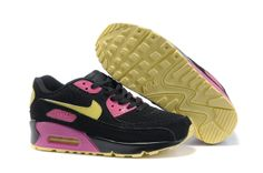 hot sale online 208bf 1301e Buy The Nike Air Max 90 Womens Shoes Black Yellow Pink Would Be Your Best  Choice from Reliable The Nike Air Max 90 Womens Shoes Black Yellow Pink  Would Be ...