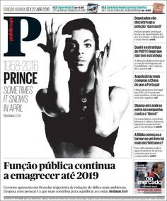 Prince: and the front pages around the world → García Media