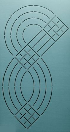 "Continuous Cable 7"" - The Stencil Company"