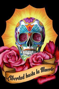 25 Ilustraciones tributo al Día de los Muertos por jóvenes artistas latinos http://www.buzzfeed.com/gretaalvarez/ilustraciones-por-latinos-tributo-al-diadelosmuertos