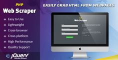 PHP Web Scraper v1.3helps you generate code to automatically get HTML from a web page and display it on your website. The main benefit of using this plugin is that it directly retrieves HTML from the source you specify, so the data always remains up-to-date. This is especially useful for...