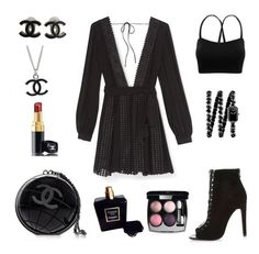 """""""outfit day"""" by alexia7528 on Polyvore featuring Rebecca Minkoff, River Island and Chanel"""