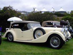 1938 Alvis Speed 25 Touring Convertible