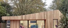 This cool modern garden studio outside London looks totally custom, but it's not. The cedar-clad structure, which does double-duty as a home office and guest house, is one of the prefabricated designs from architects Amira Idris Town, Lee Town and Matthew Kettle, who together run Ecospace Studios, a London-based firm. Specializing in prefab modular structures, the architects offer clients an array of options to customize their dream studio because, as we all know, one size does not fit all.