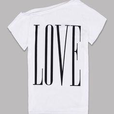 2016 New Fashion Women T-shirts Girls Summer Casual LOVE Letter Print Tee T Shirt Tops Women's Clothing♦️ SMS - F A S H I O N 💢👉🏿 http://www.sms.hr/products/2016-new-fashion-women-t-shirts-girls-summer-casual-love-letter-print-tee-t-shirt-tops-womens-clothing/ US $2.41