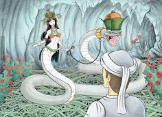 La leyenda de Shahmaran, la reina de las serpientes