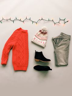 Cozy knits - check. Stylish booties - check. Holiday fun - check. Shop this and more from Holiday '15.