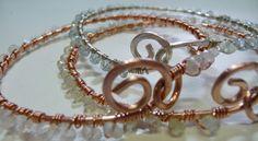 Wire bangle tutorial | Free | http://danasjewelrydesign.blogspot.com/2012/02/delightful-bangles-tutorial.html