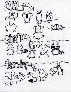 Drawing Animals // Dibujando animales