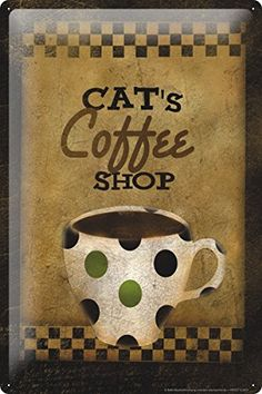Amazon.es: placa metal vintage coffee: Hogar y cocina