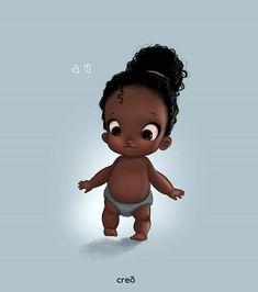 Arte Afro on my way! Black Love Art, Black Girl Art, My Black Is Beautiful, African American Artwork, African Art, Black Girl Cartoon, Black Art Pictures, Natural Hair Art, Black Artwork