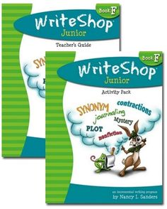 WriteShop Junior F Teacher Guide/Activity Pack/TimeSaver Pre Writing, Teaching Writing, Persuasive Letter, Different Sentences, Daily Lesson Plan, Sentence Starters, Writing Process, Writing Resources, Book Summaries