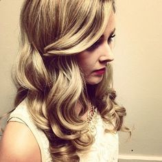 glamour waves. Possible prom hair?