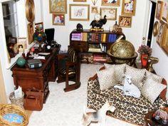 Modern Mini Houses: Katina Beales' Art Deco Dollhouse