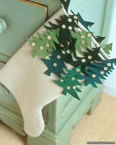 Christmas Tree Stockings How-To