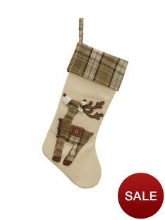 reindeer-christmas-stocking-green-design