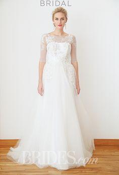 Brides: David's Bridal - Fall 2015. Wedding dress by David's Bridal