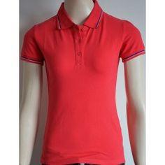 Piazza Italia dámské tričko s krátkým rukávem červené XS Polo Shirt, T Shirt, Mens Tops, Fashion, Italia, Supreme T Shirt, Moda, Polos, Tee Shirt