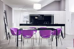 03 Apartment in Gdańsk//Formativ. Island Design, Conference Room, Dining Room, Interior Design, Table, Furniture, Poland, Kitchen Island, Home Decor