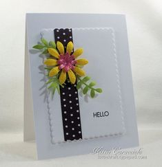 Kitty Caracciolo: Pretty Simple, bold colors MFT Stitched Flowers , Scalloped Stackables 1 left