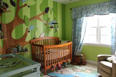 Here's how the Enchanted Forest Nursery turned out!