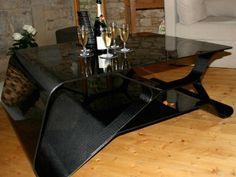 Muriwai Carbon Fiber Coffee Table - Furniture - Home & Office | Carbon Fiber Gear
