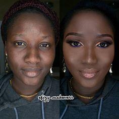 Makeup Pics, Makeup Art, Beauty Makeup, Beauty Tips, Beauty Hacks, Power Of Makeup, Face Beat, Makeup Transformation, Contouring