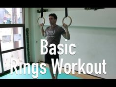 Gymnastic Rings Training - Basic Rings Workout