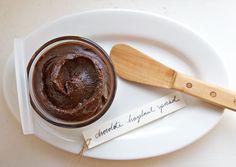 Homemade Chocolate-Hazelnut Spread.