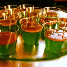 Sour Candy Apple Jello shooters