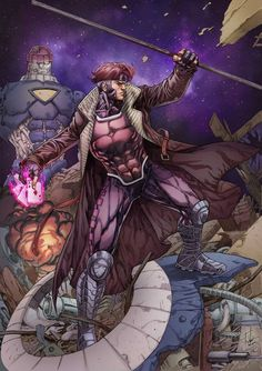 I don't know if it will ever see the light of day but Pirates of the Caribbean Director might lead the Gambit Movie. A lot of people still wanna see this film succeed but I in particular am very. Gambit Marvel, Gambit X Men, Rogue Gambit, Hq Marvel, Marvel Comics Art, Marvel Heroes, Deadpool Wolverine, Marvel Facts, Comic Book Characters