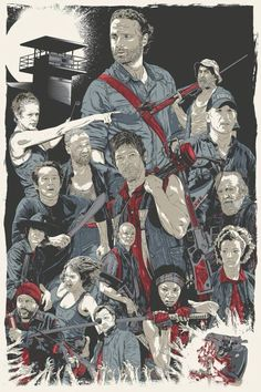 The Walking Dead by Chris Morkaut *