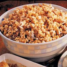 Nutty Toffee Popcorn Recipe