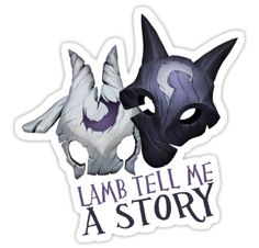 """Kindred League of Legends"" Stickers by LexyLady 