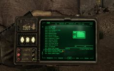 fallout pip boy design - Google Search