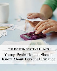 What You Need to Know About Personal Finance