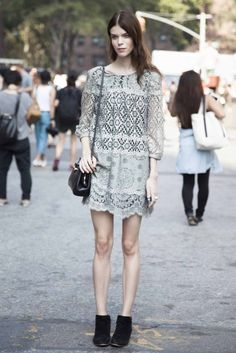 New York fashion week street style spring/summer '14