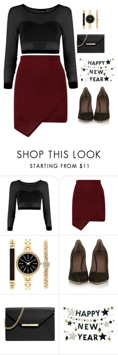 """""""New Year's Eve Party"""" by elyriss ❤ liked on Polyvore featuring Style & Co., Givenchy, MICHAEL Michael Kors and West Elm"""