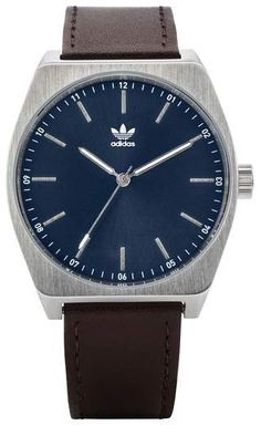 online shopping for adidas Process Leather Strap Watch, from top store. See new offer for adidas Process Leather Strap Watch, Adidas Originals Watch, Adidas Watch, Fashion Jewelry, Women Jewelry, Brown Leather Watch, Adidas Women, Women's Accessories, Watches For Men, Souvenir