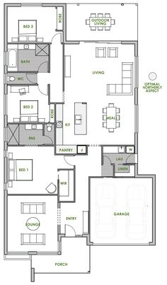 Home Design Floor Plans architectural designs africa house plans ghana house plans casa Macdonnell Energy Efficient Home Design Green Homes Australia