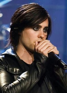 Jared Leto,  don't care what other people say, I love the eyeliner years