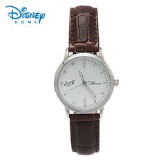 $43.98 (Buy here: https://alitems.com/g/1e8d114494ebda23ff8b16525dc3e8/?i=5&ulp=https%3A%2F%2Fwww.aliexpress.com%2Fitem%2FDisney-watches-79101-Mickey-Minnie-kiss-coffee-watches-small%2F32697188746.html ) Disney Mickey watches men's watches Casual Vintage quartz watch reloj hombre Masculino leather strap Wristwatches 79101 for just $43.98