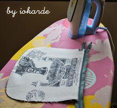 iokarde Costurillas y demás....: Tutorial mochilas forradas