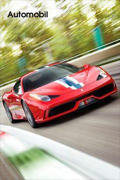 """Ferrari • Ferraris 13. 13 in elf Jahren. So viele Auszeichnungen holte sich Ferrari von BBCs Top Gear, einem der weltweit bedeutendsten Automobilmagazine. Im letzten Jahr wurde der 458 Speciale nicht nur ein Mal sondern gleich zwei Mal prämiert. Der Wagen erhielt die Auszeichnungen """"Supercar of the Year"""" und """"Car of the Year"""". James May, einer der drei Präsentatoren der TV-Show gleichen... Bild anzeigen: http://www.imagesportal.com/automobile.php?search=ip0286de1automobile&dosearch=&a=%2B"""