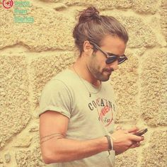 "Man Buns on Instagram: ""We call this messy #Manbun perfection! @chcoelho.x #DailyManbun"""