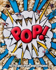 Pop! – Book Cover by Luke Lucas
