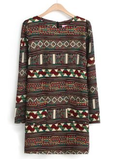 Tribal Pattern Dress!